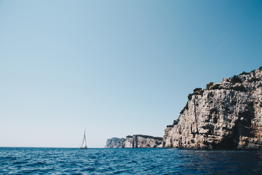 Views from our boat in Zadar Croatia